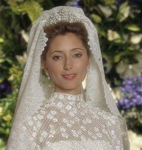 Princess Marie Chantal of Greece Hair