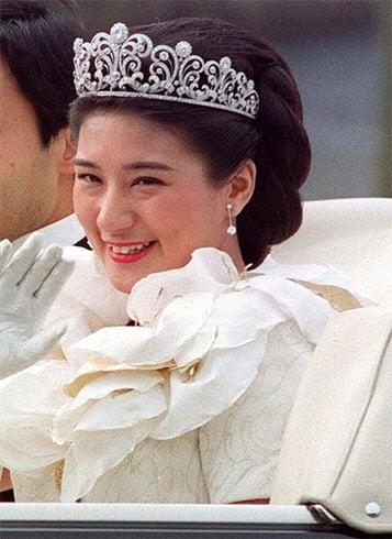 Princess Masako Wedding Hairstyle