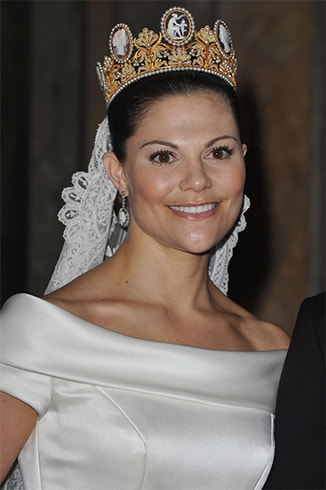 Princess Victoria of Sweden Hairstyle