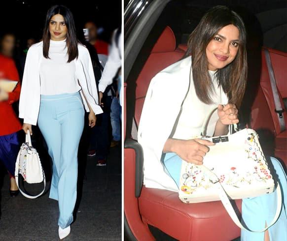 Priyanka Chopra Fendi Handbag