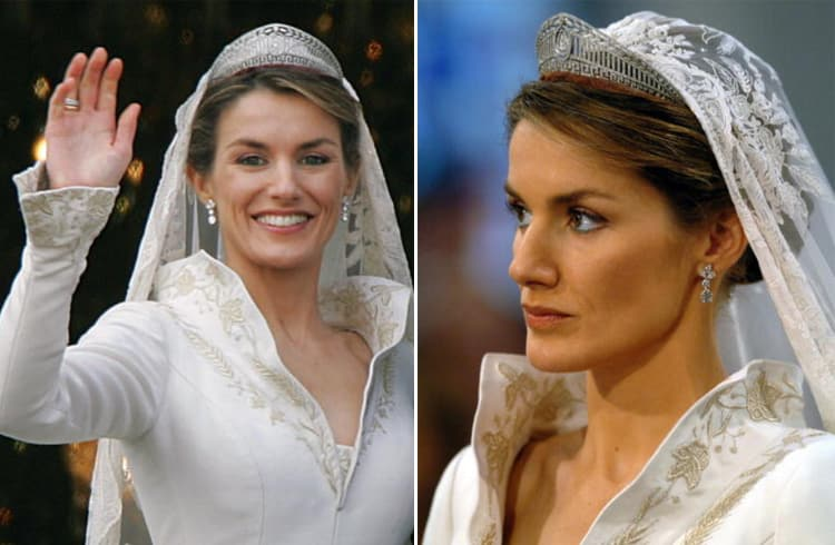 Queen Letizia of Spain Hairstyle