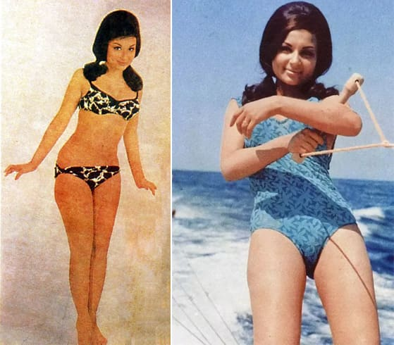 Sharmila Tagore in Pari