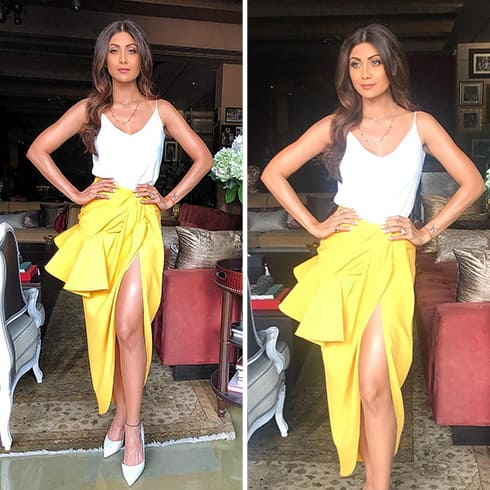 Shilpa Shetty Summer Fashion
