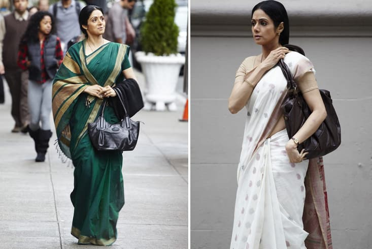 Sridevi's Cotton in English Vinglish