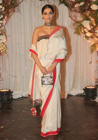 Tube Tops With Saree