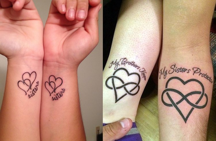 Small Sister Tattoo: Sister Tattoos To Share Sibling Love