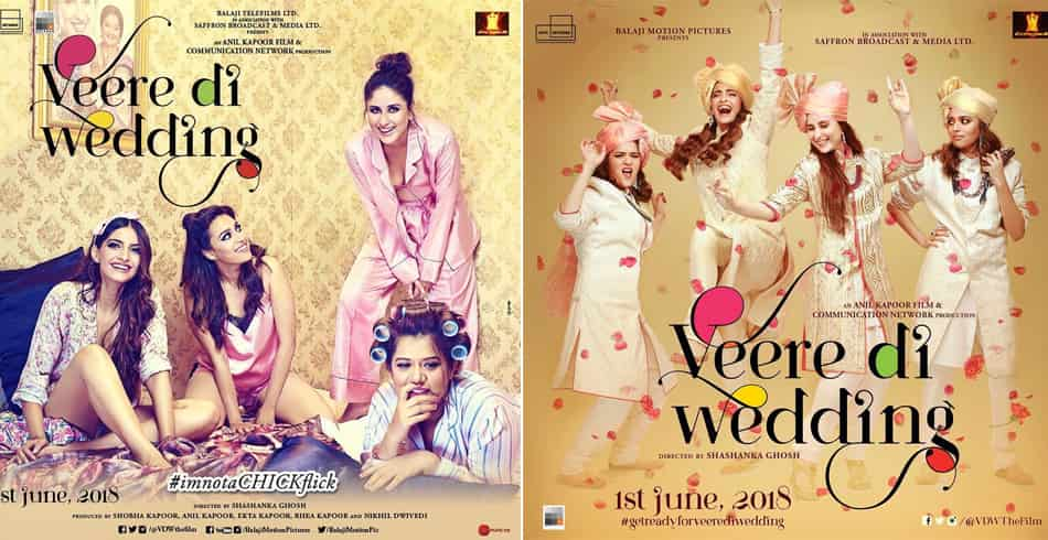 Veere Di Wedding Posters
