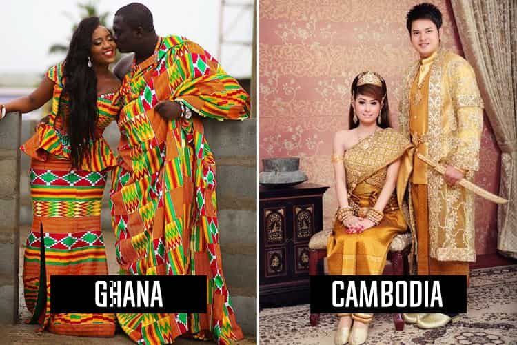 Mind Blowing Traditional Wedding Dresses Around The World: Wedding Dresses From Around The World