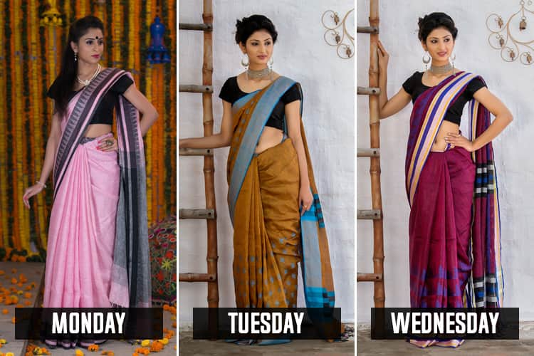Workwear Sarees