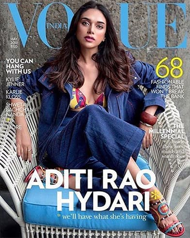 Aditi Rao Hydari On Vogue