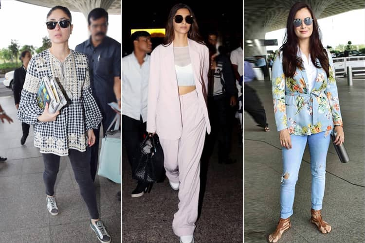 Airport Looks at The B-Town Beauties