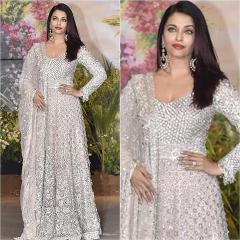 Aishwarya Rai at Sonam Kapoor Reception