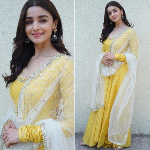 Alia Bhatt In Nikasha Designed Dress