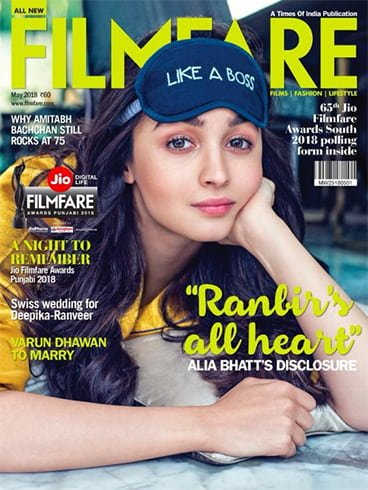 Alia Bhatt On Filmfare