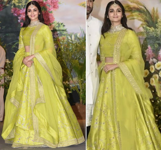 Alia Bhatt at Sonam Kapoor Wedding