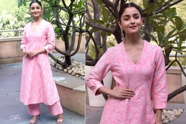 Alia Bhatt in designer fashion dress
