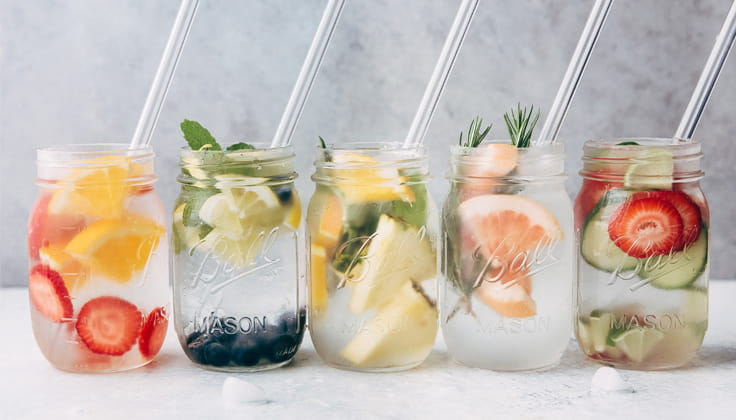 Alternative drinks to be hydrated body