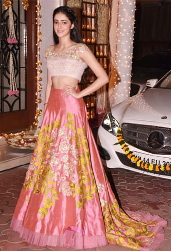 Ananya Pandey in Manish Malhotra designs