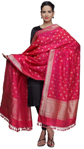 Banarasi dupatta as Mother's Day Gift
