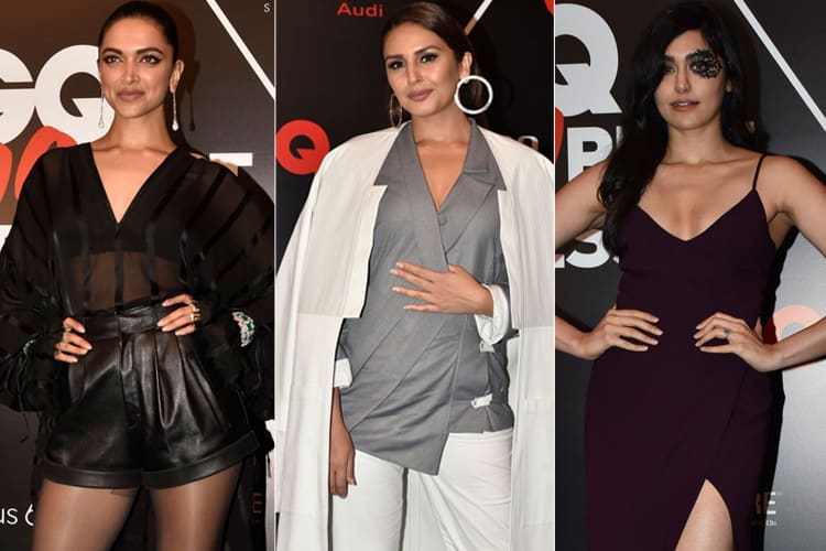 Bollywood Actresses At GQ Best Dressed Awards