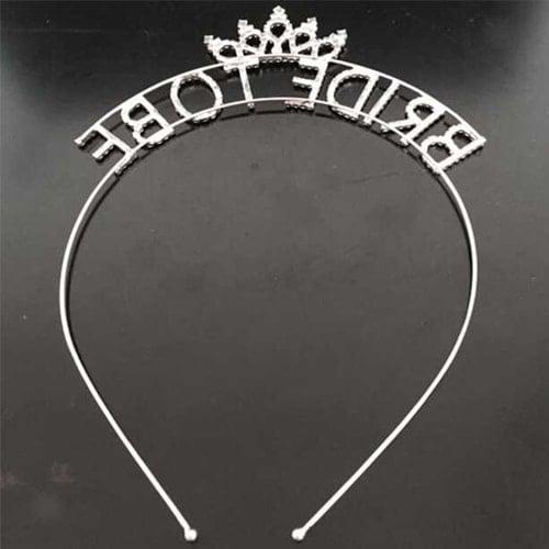 Bridal Shower Gift Bride Night Crown