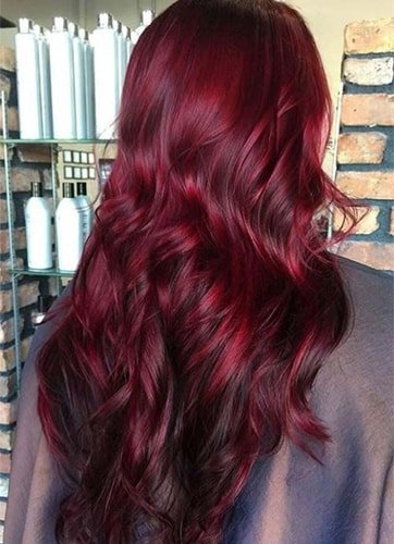 Bright Red Highlights