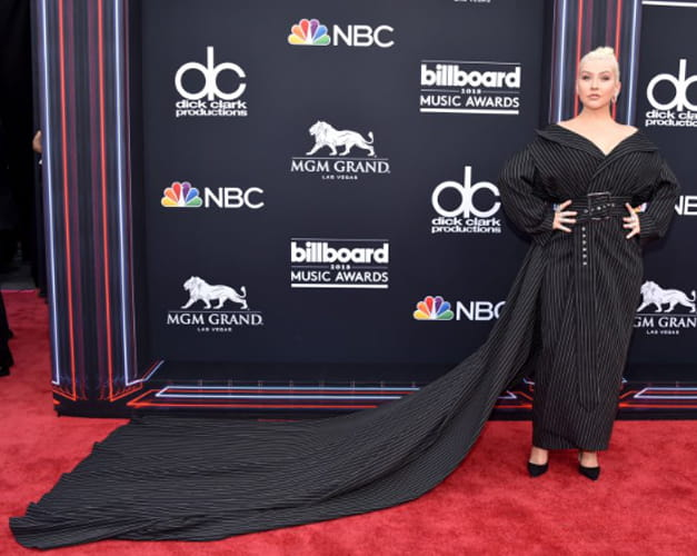 Christina Aguilera At Billboard Music Awards