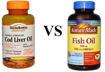 Cod Liver Oil Vs Fish Oil