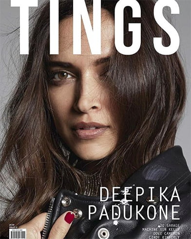 Deepika Padukone On Tings Magazine