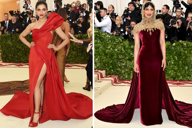 Deepika and Priyanka Fashion in Met Gala
