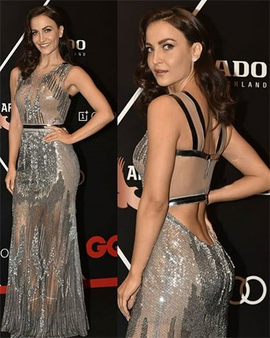 Elli Avram at GQ Awards