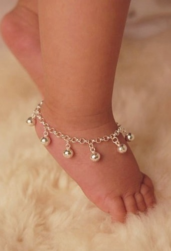 Girly Chain Anklets for baby
