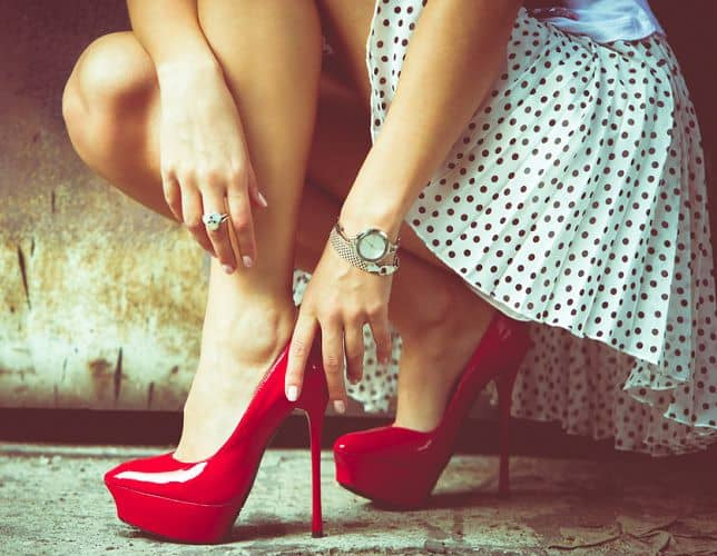 Health problem with Strutting In High Heels