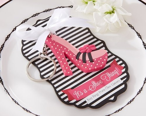High-Heel Shoe Keychain for Bridal Shower gift