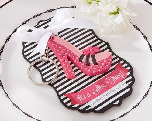 High-Heel Shoe Keychain for Bridal Shower gift