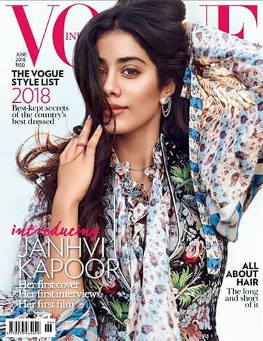 Janhvi Kapoor Vogue June 2018 Cover