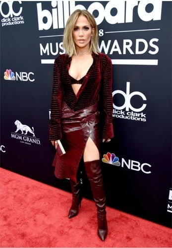 Jennifer Lopez in Billboard Music Awards