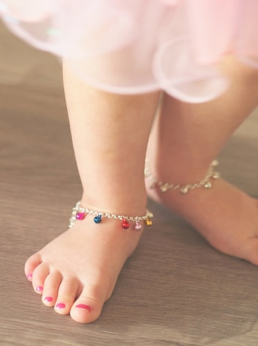 Jingle bell Anklets for baby