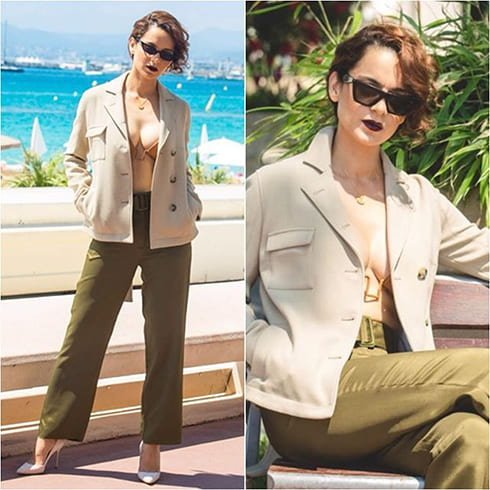 Kangana Ranaut Cannes Outfit