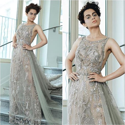 Kangana Ranaut at Cannes 2018 film festival
