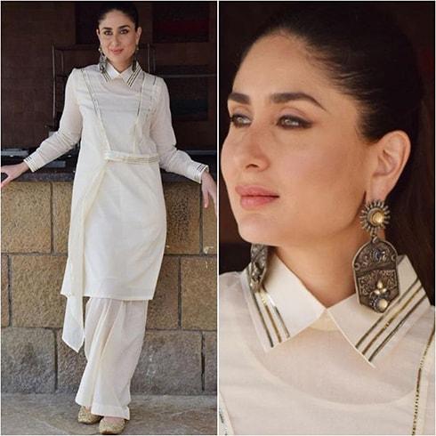 Kareena Kapoor in AJSK Gulabo outfit