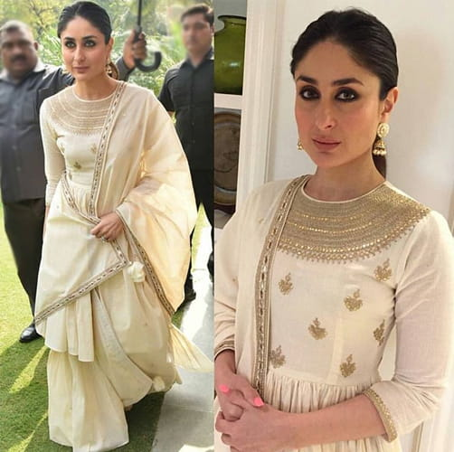 Kareena Kapoor in White apparel