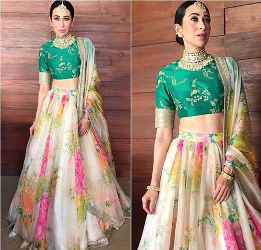 Karisma Kapoor Fashion at Sonam kapoor wedding