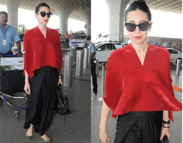 Karisma Kapoor Airpott Looks