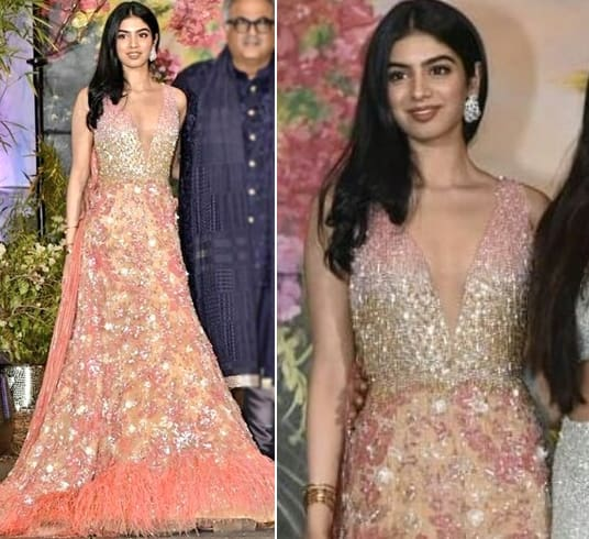 Khushi Kapoor at Sonam Wedding