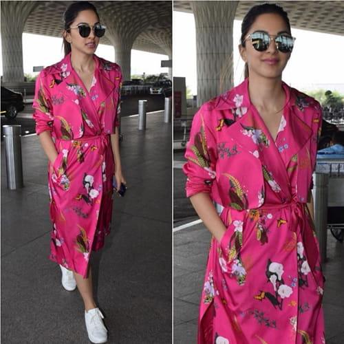 Kiara Advani Airport Fashion