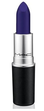 M.A.C Royal Blue Lipstick