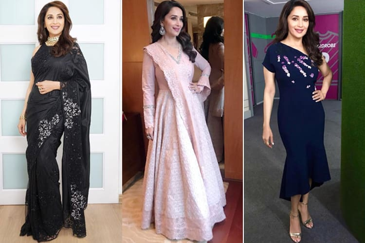Madhuri Dixit Promotional Styles