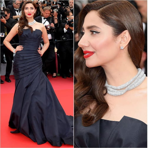 Mahira Khan Accessories at Cannes