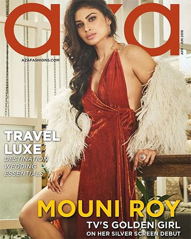 Mouni Roy On Azas Travel And Lifestyle Issue